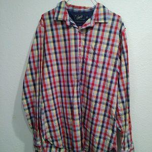 Grayers Long Sleeve Plaid Shirt